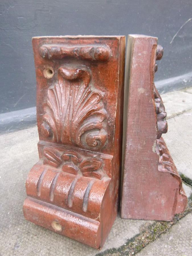 Antique Wooden Corbels - architectural-forum