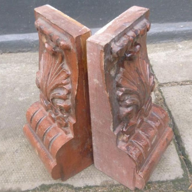 Antique Wooden Corbels - The Architectural Forum