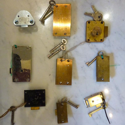 Brass Locks with Keys - The Architectural Forum