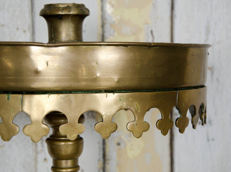 Antique Brass Candelabrum - The Architectural Forum