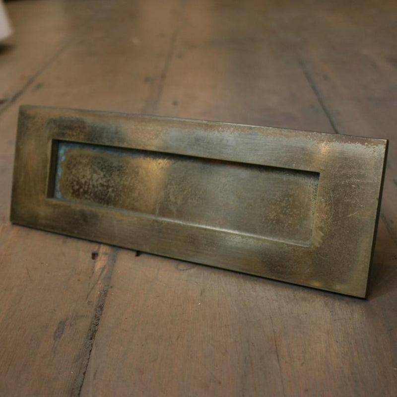 Reclaimed Brass Letterbox