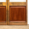 Antique Brass and Mahogany Glazed Dividing doorsDoors