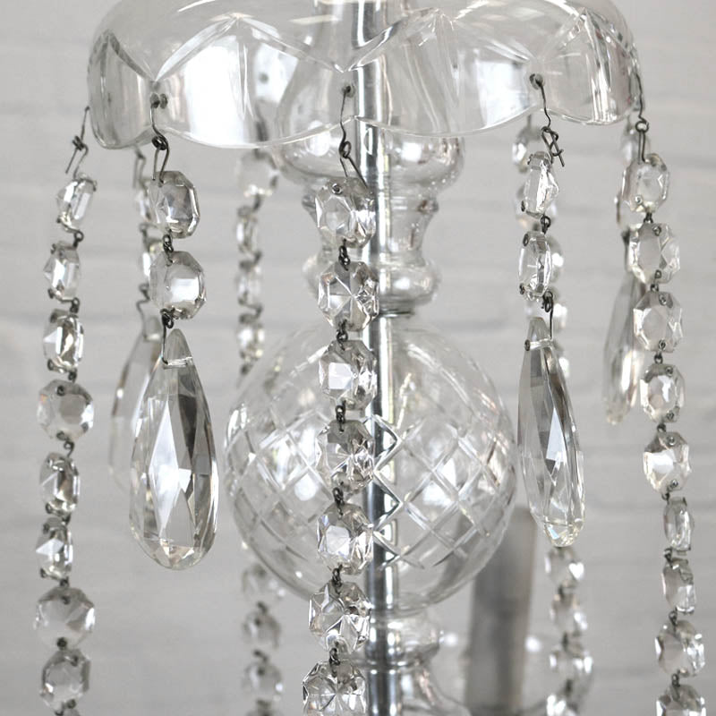 Antique Glass Chandelier - The Architectural Forum