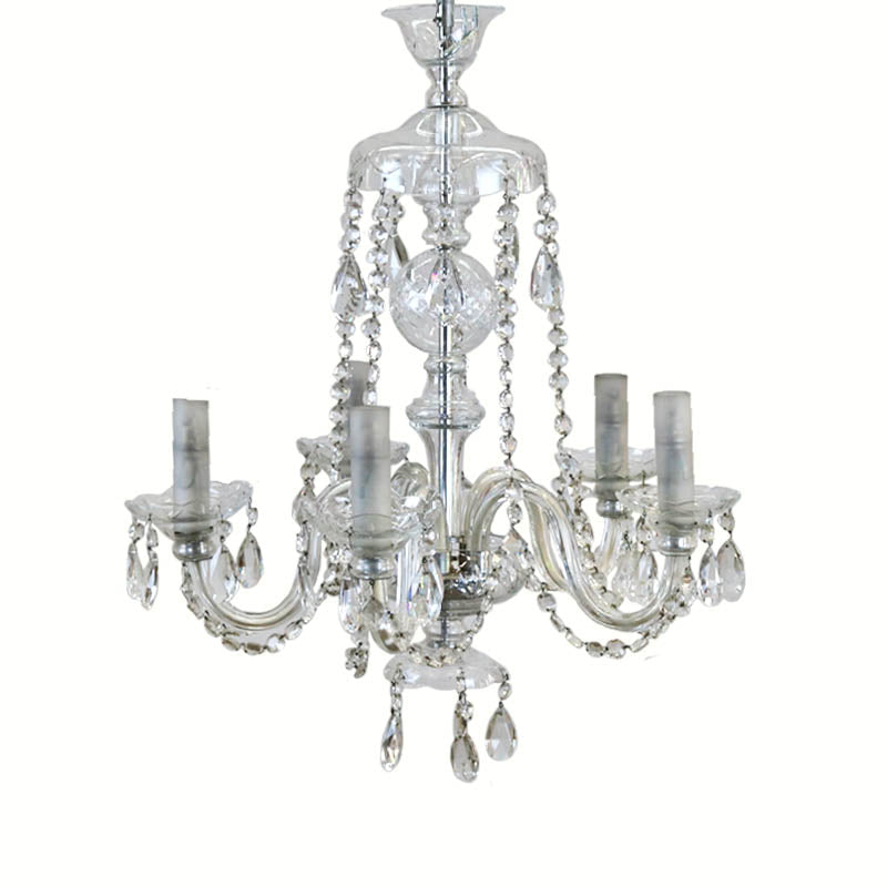 Antique Glass Chandelier