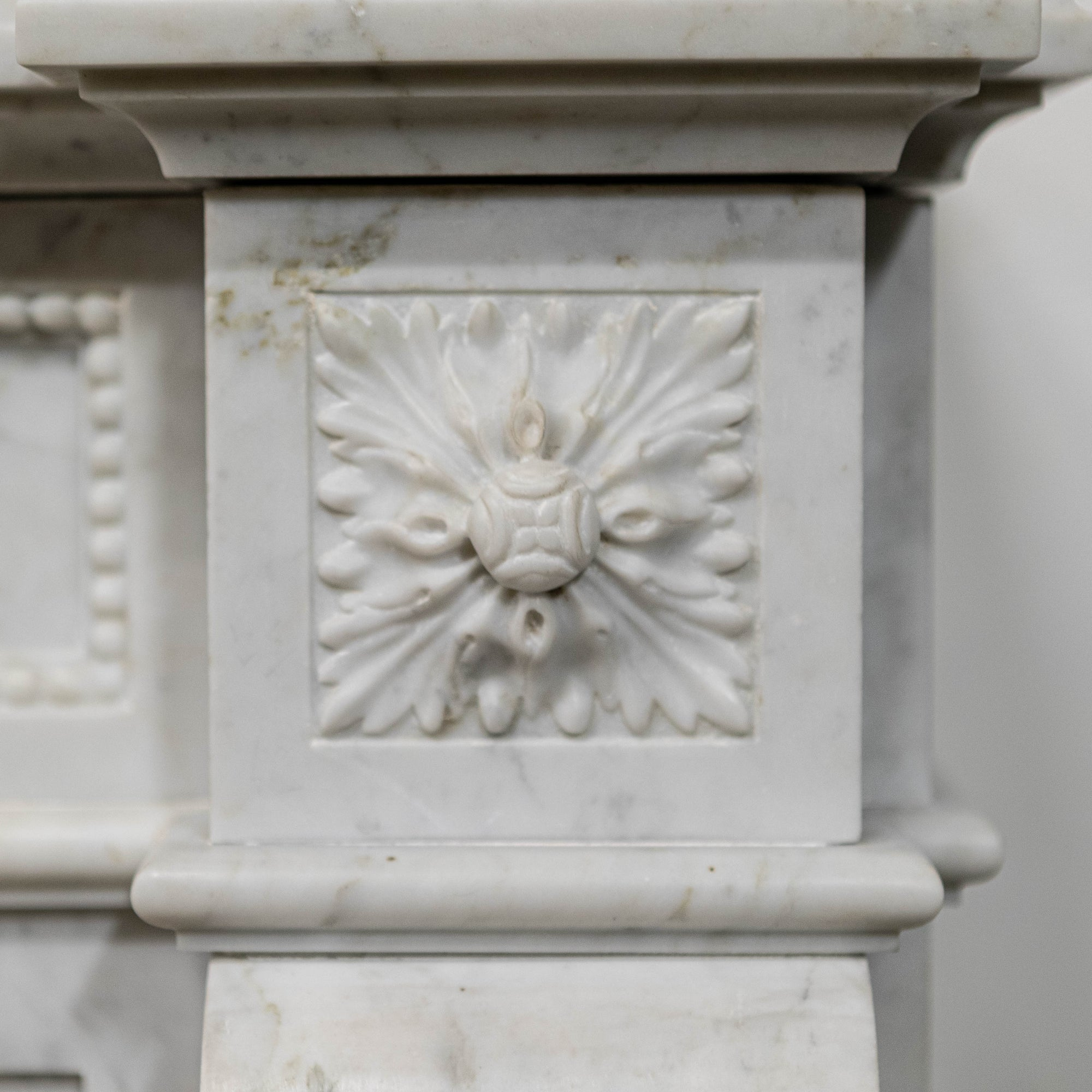 Reclaimed Louis XVI Carrara Marble Chimneypiece | The Architectural Forum
