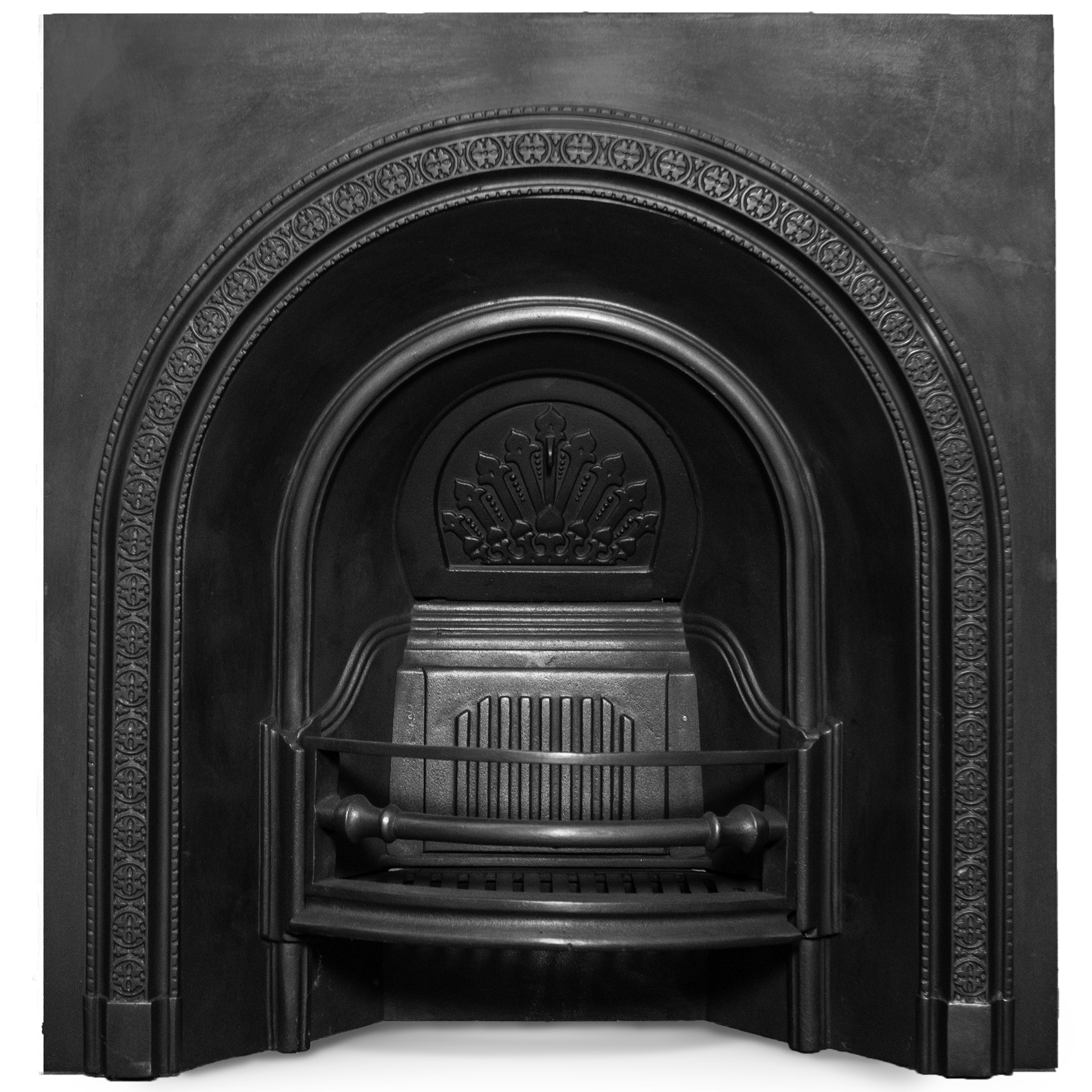 Victorian Style Cast Iron Arched Insert