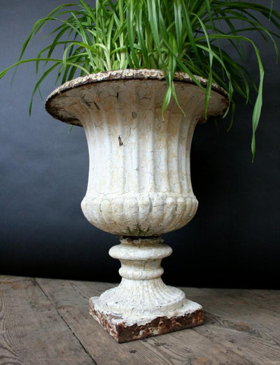 Antique Cast Iron Urn - architectural-forum