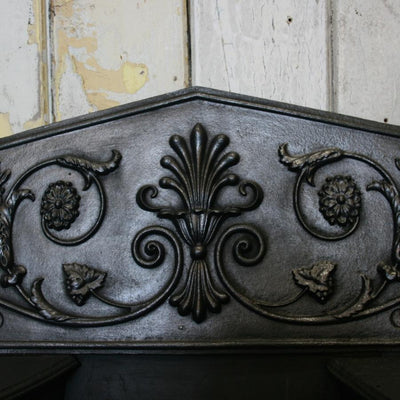 Antique Georgian Cast Iron Register Hob Grate - The Architectural Forum