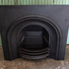 Reclaimed Arched Cast Iron Fireplace Insert
