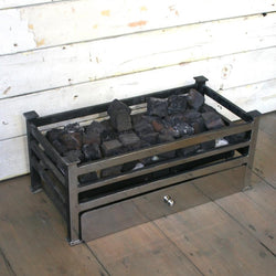 Reclaimed Gas Fire Basket