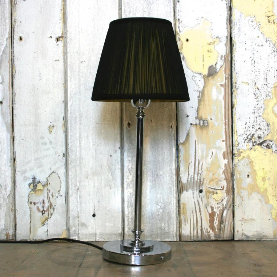 Table Lamps With Chrome Bases - architectural-forum