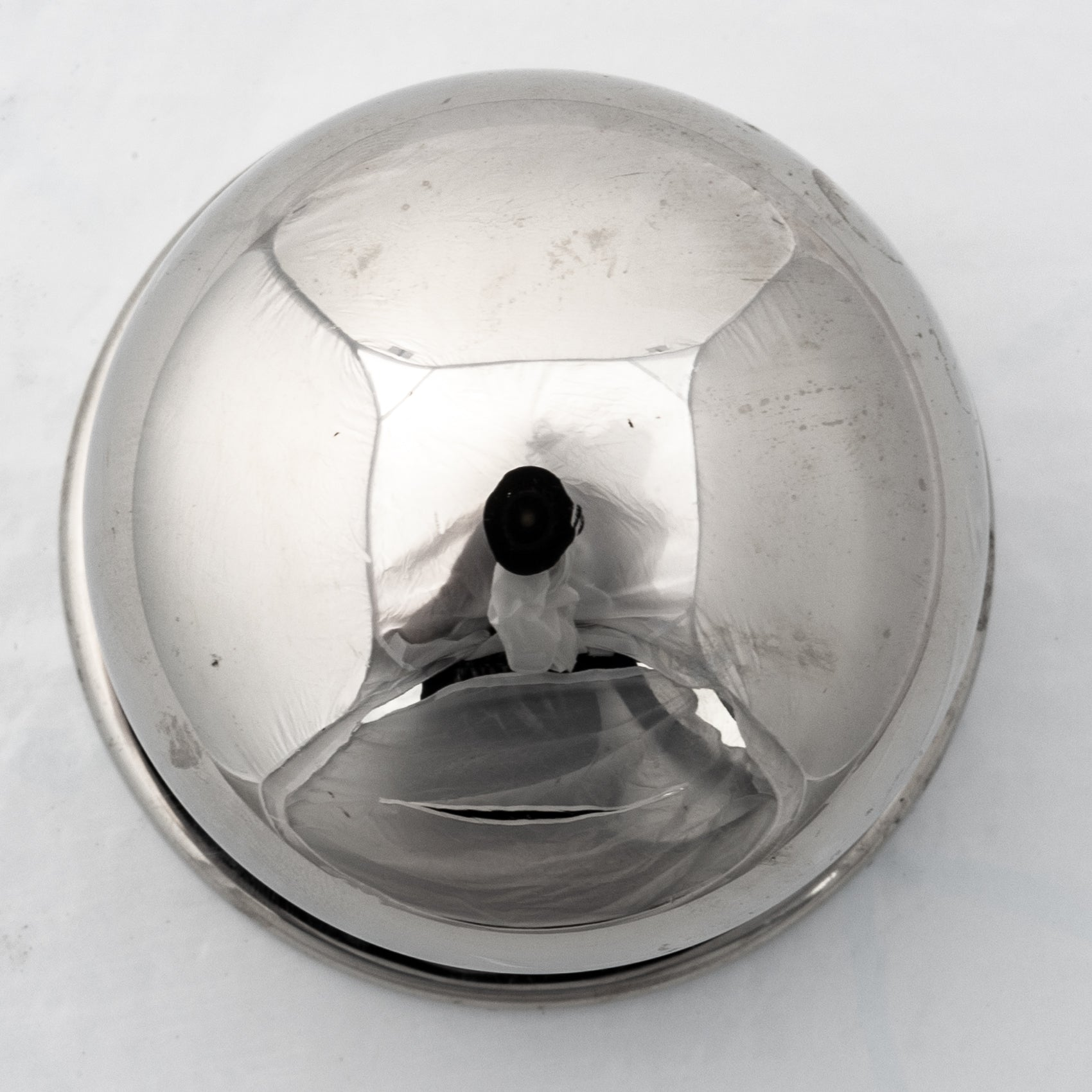Reclaimed Polished Chrome Door Knob 3 Available | The Architectural Forum