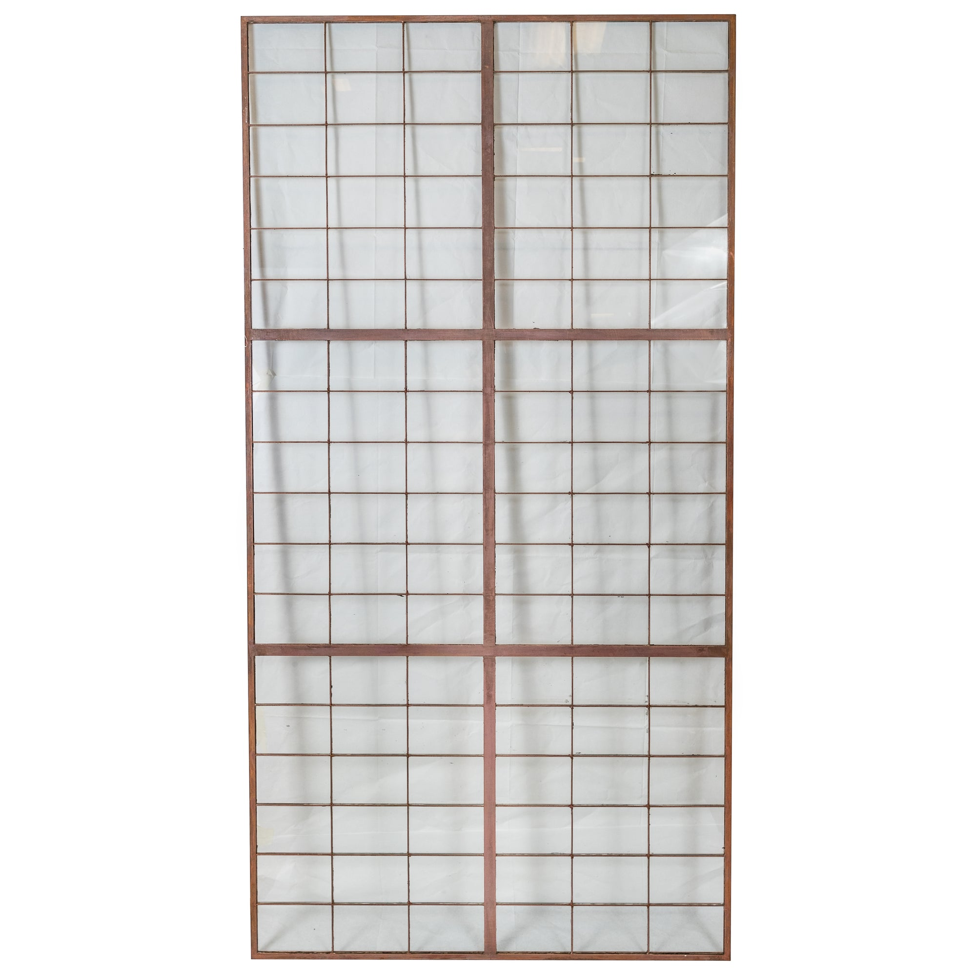 Reclaimed Glass Copper light Panels 78.5cm X 162cm - architectural-forum