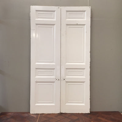 solid pine double doors