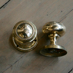 Reclaimed Brass Door Knobs · The Architectural Forum