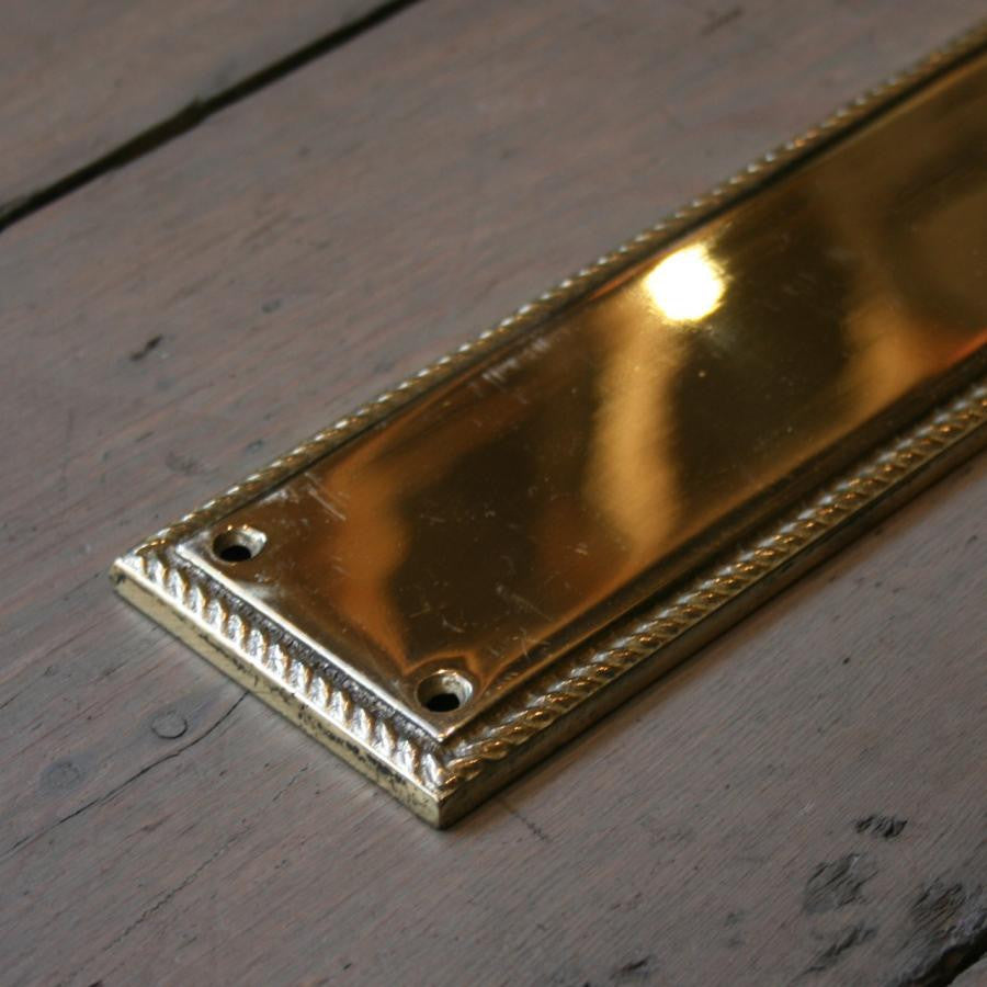 Reclaimed Brass Fingerplates | The Architectural Forum