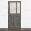 Victorian 3 panel Door - 212cm x 93cm - architectural-forum