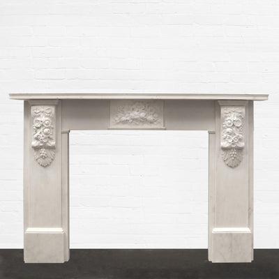 Victorian Statuary Marble Surround