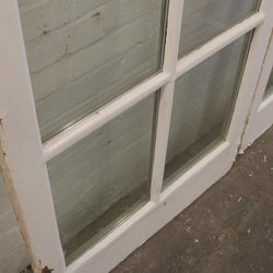 Antique Exterior Pine Glazed Panels