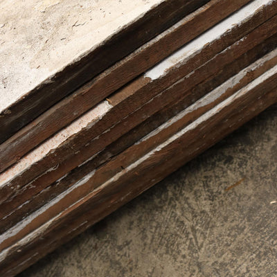 13 sq meters antique Victorian Solid Pine cladding or Flooring - architectural-forum