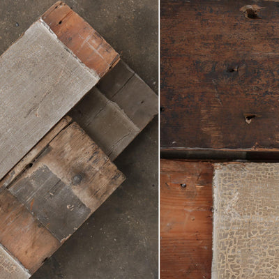 reclaimed solid pine floorboards