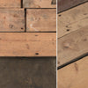 Reclaimed solid pine flooring salvaged
