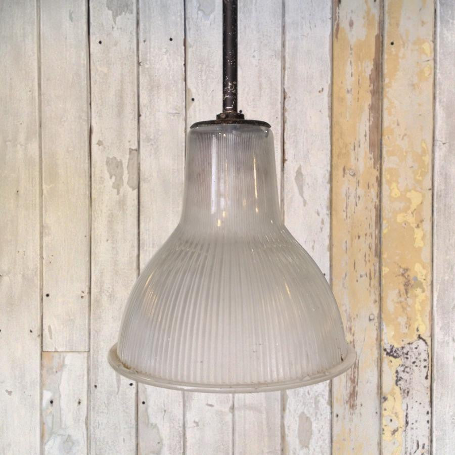 Reclaimed Vintage Holophane Pendant Lights
