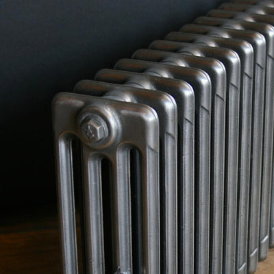 Reclaimed Polished Cast Iron Radiator - architectural-forum