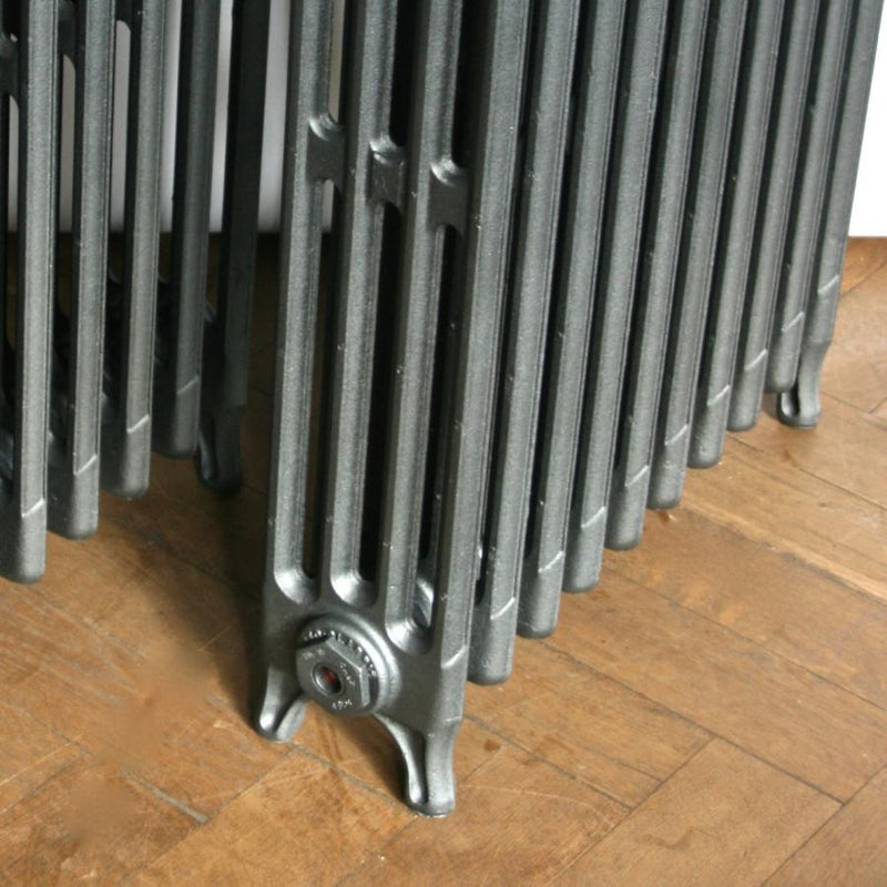 Refurbished cast iron radiators