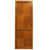 Reclaimed Solid Tulip Wood Two Panel Door - 222cm x 82.5cm - architectural-forum