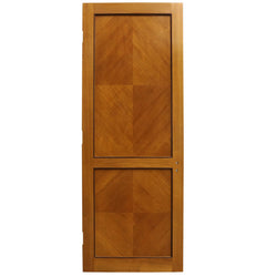 Solid Tulip Wood Two Panel Door
