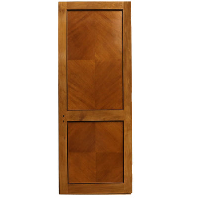 Walnut and Tulip Wood Door