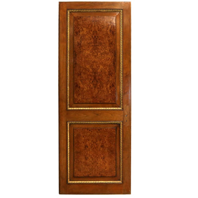 Reclaimed Walnut and Tulip Wood Door - 221cm x 83cm - architectural-forum