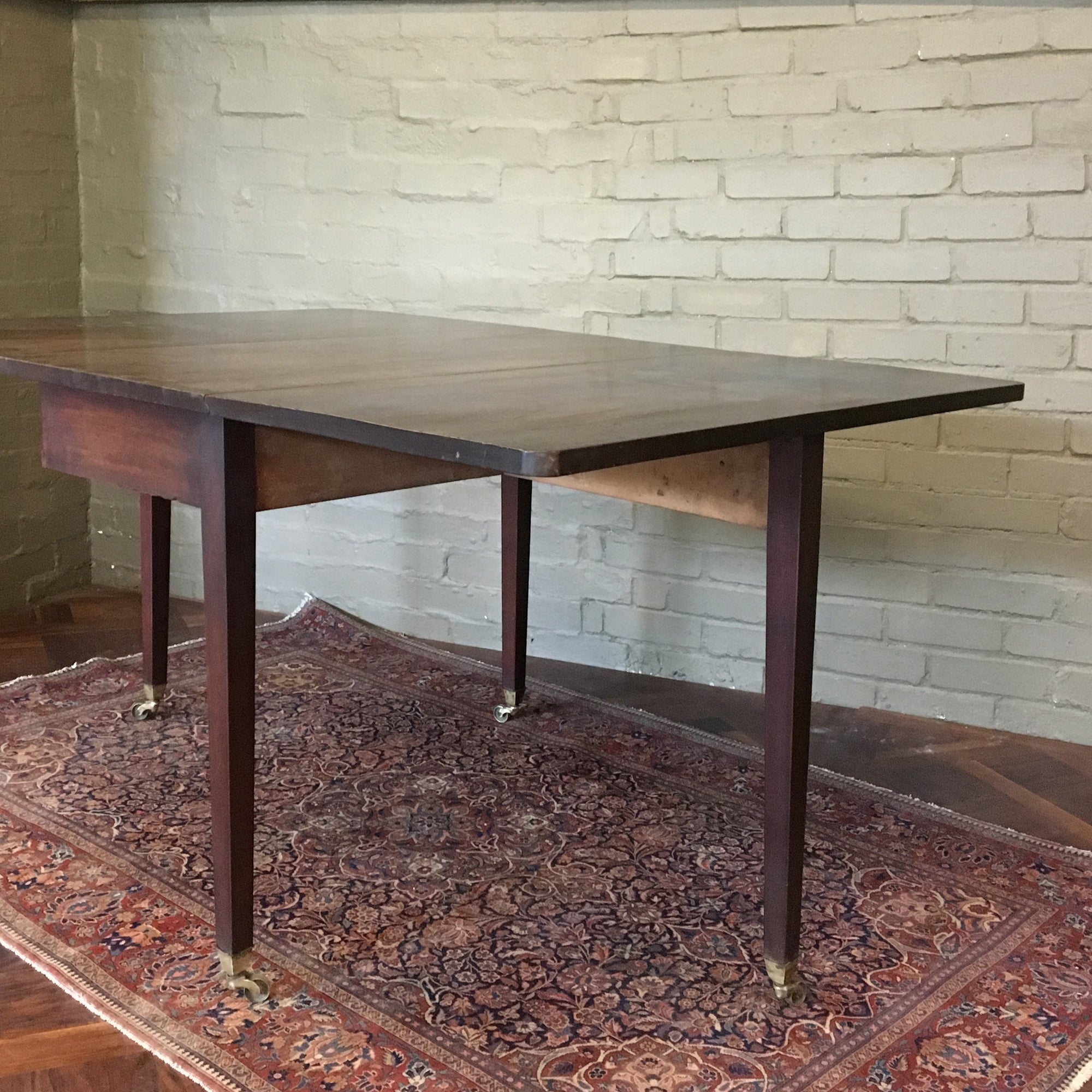 Antique Victorian Mahogany Drop Leaf Table The Architectural Forum