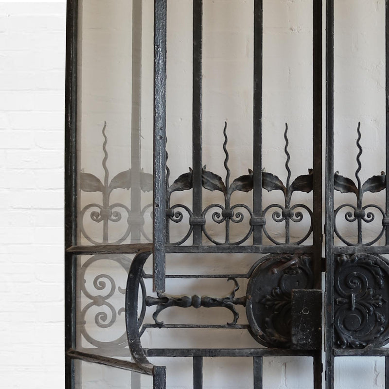 wrought iron interior doors