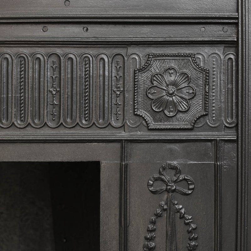 Cast Iron Georgian Register Grate