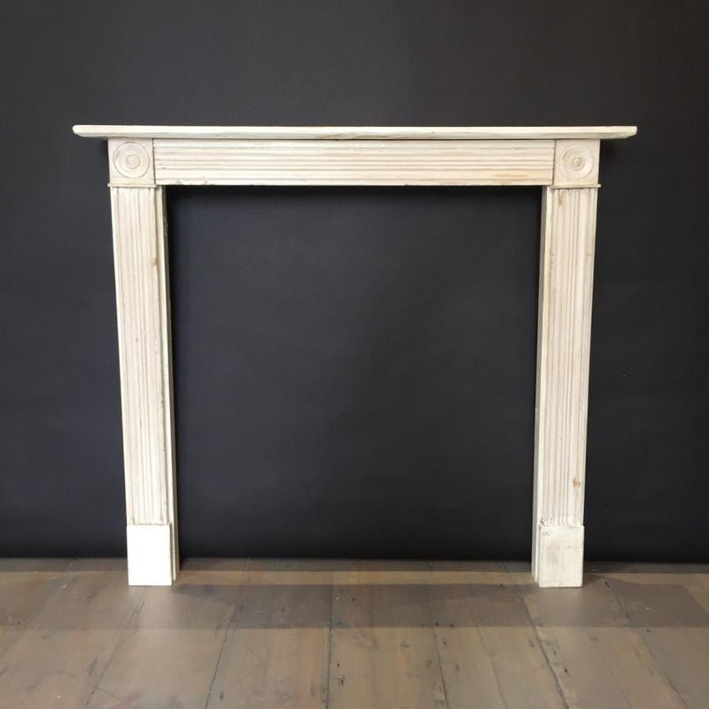 Reclaimed Georgian style fireplace surround