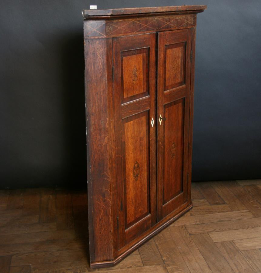 Antique Georgian Oak Cabinet | The Architectural Forum