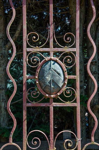 Antique Wrought Iron Gates - architectural-forum