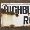 Antique Enamel London Road Sign - architectural-forum