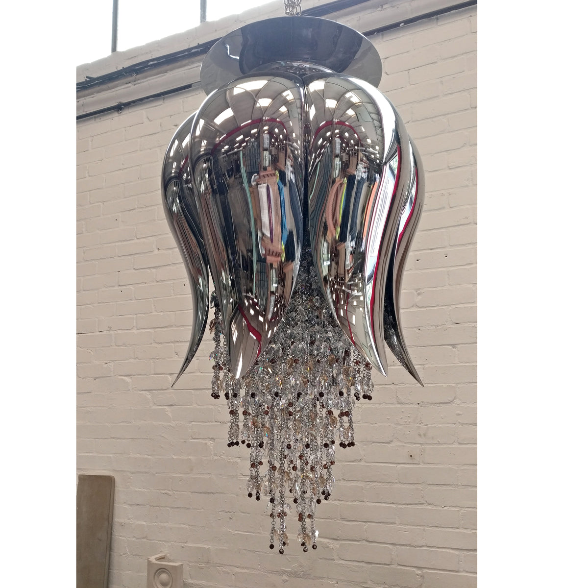Reclaimed Beby Italy Bouquet Crystal Pendant Light | The Architectural Forum