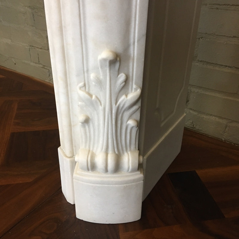 Statuary marble fire surround