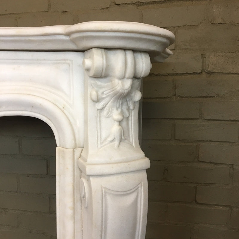 Ornate fireplace surround