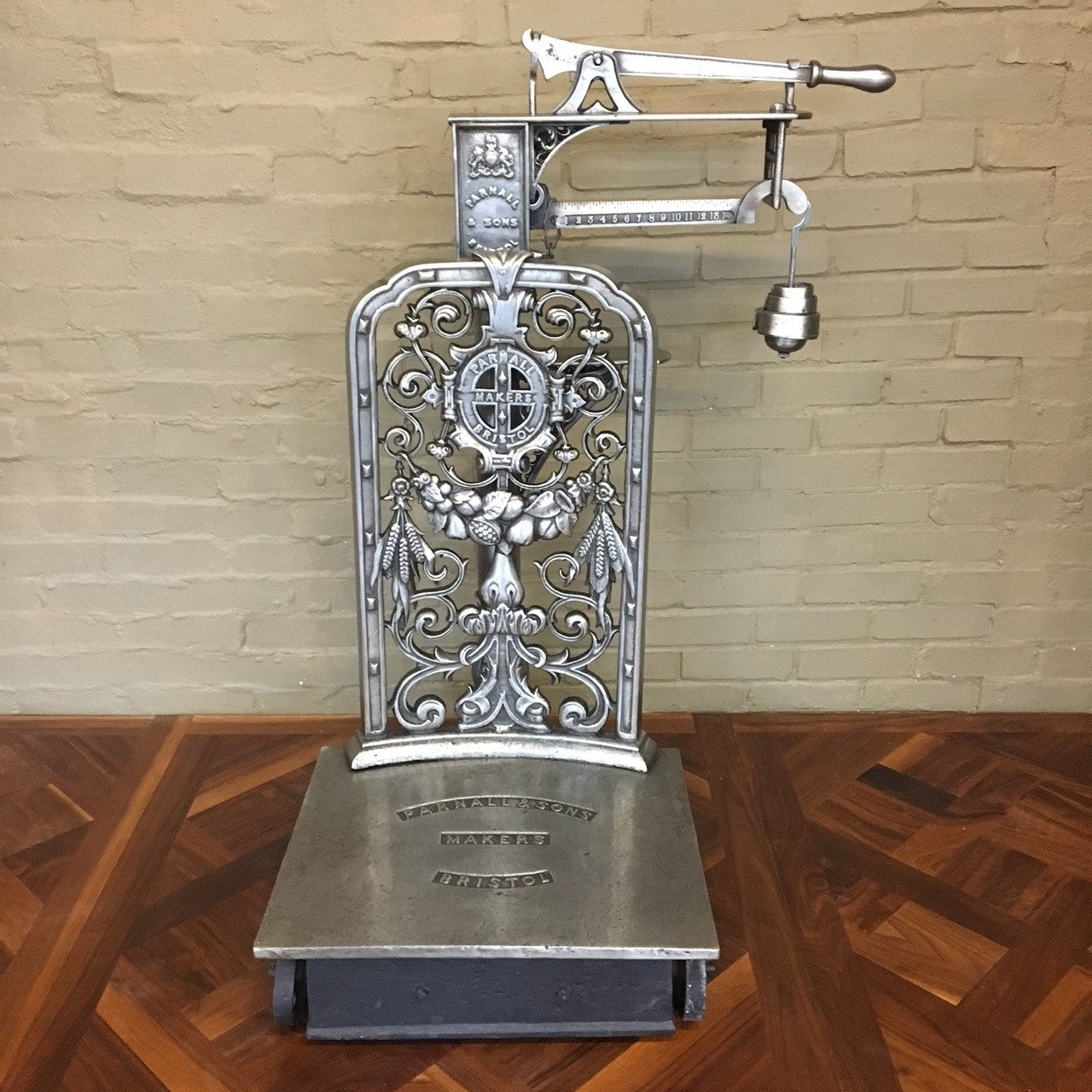 Antique Victorian Retailer's Scales - architectural-forum