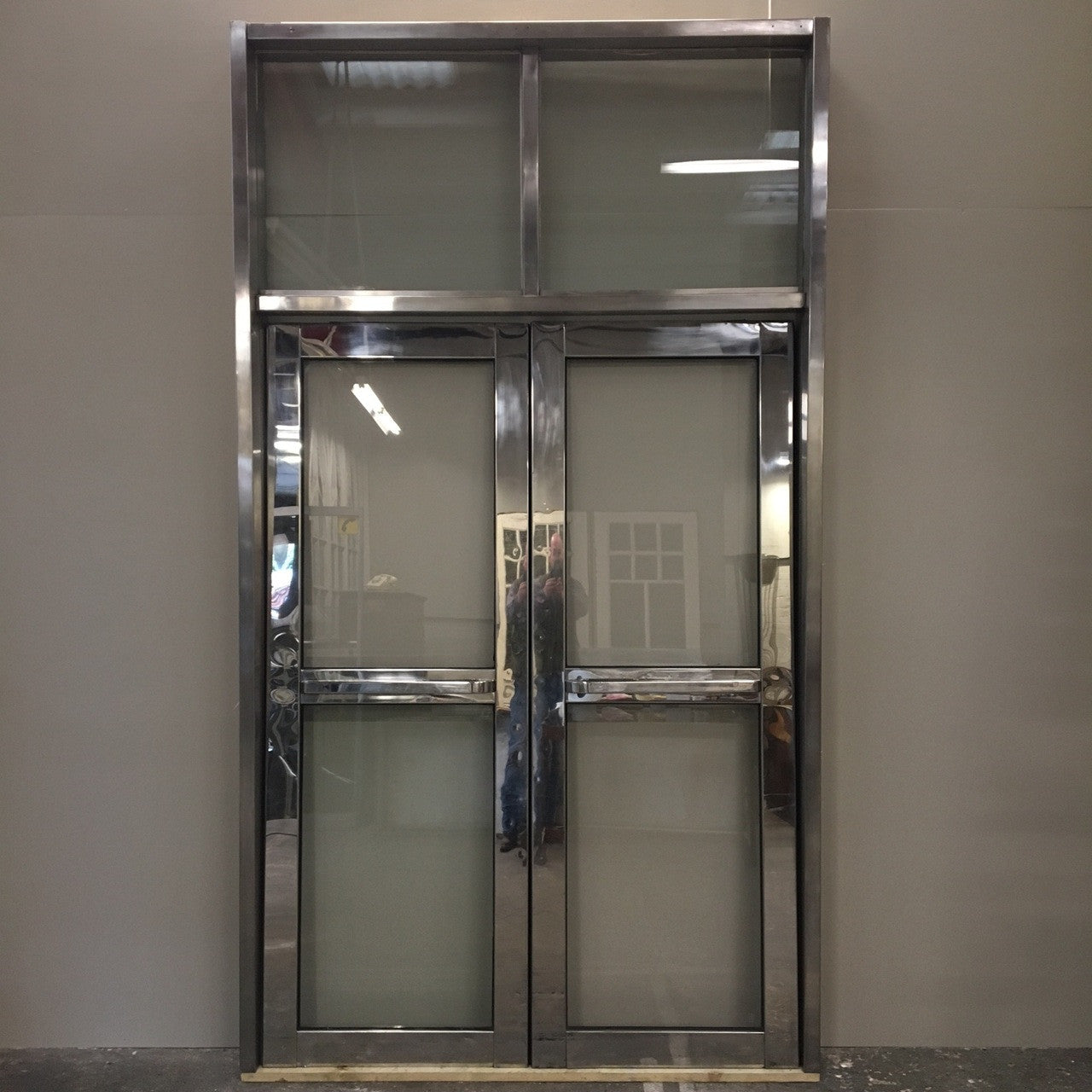 Reclaimed Mid-Century Dividing Doors - architectural-forum