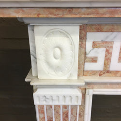 Neoclassical style fireplace