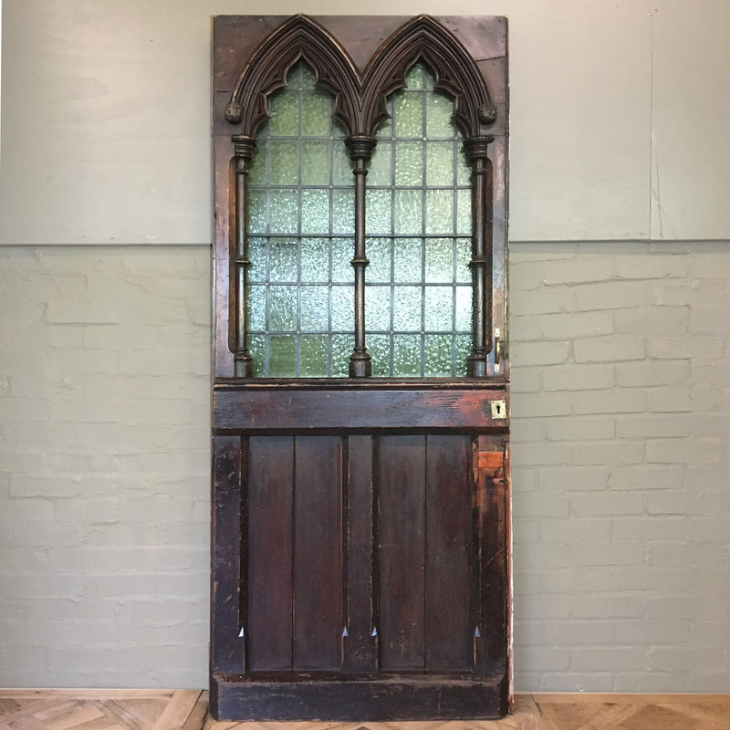 A unique and rare door in pine