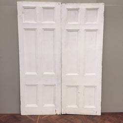 Reclaimed double doors