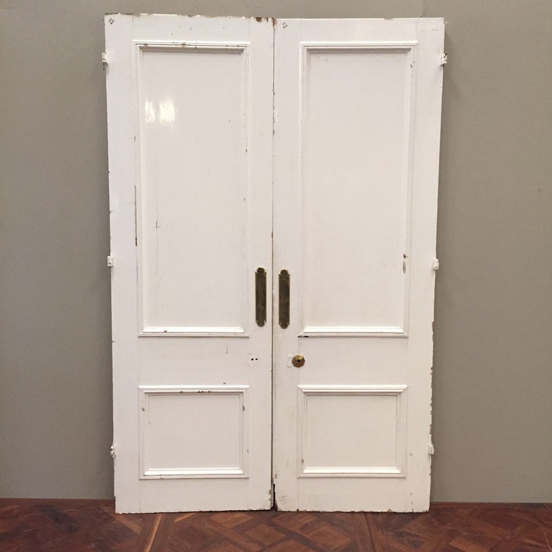 Antique pine door