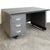 Vintage 1950s Industrial Metal Desk | The Architectural Forum